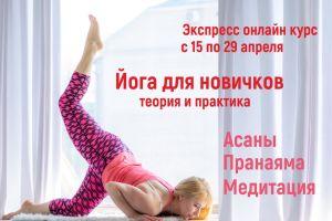 Экспресс онлайн курс Йога для новичков